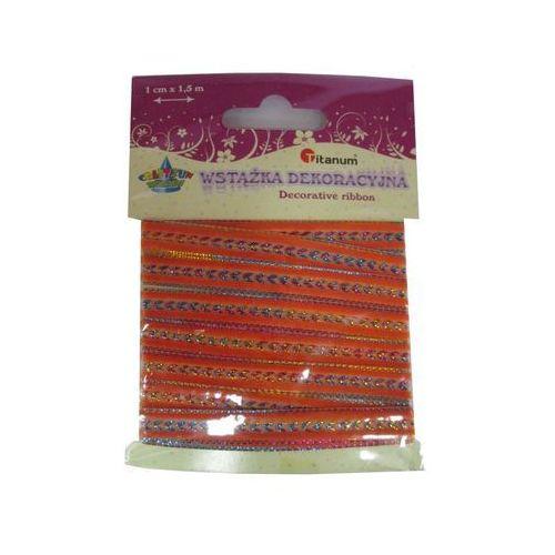 Kreatywne dla dzieci, Wstążka dekoracyjna pomarańczowa. 339431. - Titanum