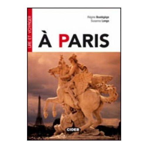 Książki do nauki języka, A Paris + Cd (opr. miękka)