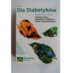 Dla Diabetyków (Morwa Biała + Borówka + Cynamon) 48 kaps.