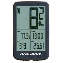 Licznik KROSS 211UW bezprzewodowy 11F termometr podśw. czarno-biały