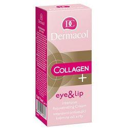 Dermacol Collagen+ Eye & Lip krem pod oczy 15 ml dla kobiet