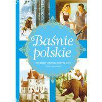 Książki dla dzieci, Baśnie polskie Miedziany olbrzym, Srebrny jeleń i inne opowieści (opr. twarda)