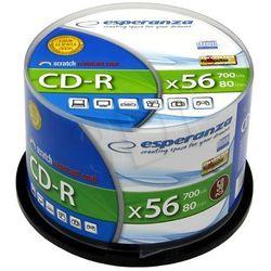 Esperanza CD-R 700MB 52x Cake (50szt.) / DARMOWA DOSTAWA / DARMOWY ODBIÓR OSOBISTY!