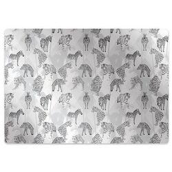 Podkładka pod krzesło obrotowe Podkładka pod krzesło obrotowe Tygrysy i zebry