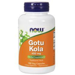 NOW FOODS Gotu Kola, 450mg - 100 kapsułek
