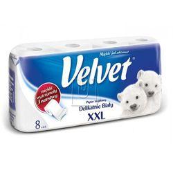 Papier toaletowy Velvet XXL biały 8 rolek