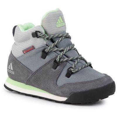 Adidas Buty cw snowpitch k g26576 grethrgrefouglogrn