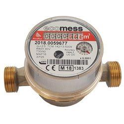 Wodomierz do ciepłej wody Ecomess Picoflux 1/2 2 5 m3/h