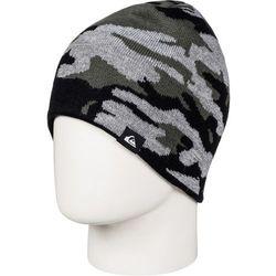 Quiksilver czapka zimowa Knox Beanie Black Grey Camokazi (KVJ9) - BEZPŁATNY ODBIÓR: WROCŁAW!