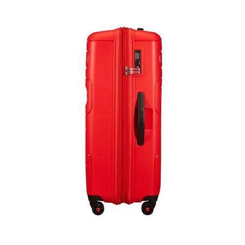 Torby i walizki, American Tourister Sunside duża poszerzana walizka 77 cm / czerwona - Sunset Red