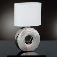 Lampy stołowe, Honsel Eye Lampa stołowa Srebrny, 1-punktowy - Klasyczny - Obszar wewnętrzny - Eye - Czas dostawy: od 4-8 dni roboczych
