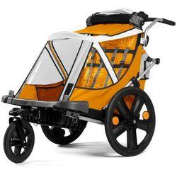 Przyczepka rowerowa BELLELLI City Pomarańczowa + DARMOWY TRANSPORT!