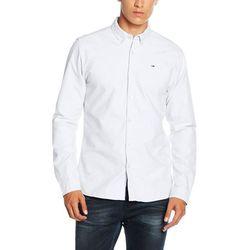 Koszula Hilfiger Denim dla mężczyzn, kolor: biały, rozmiar: Small