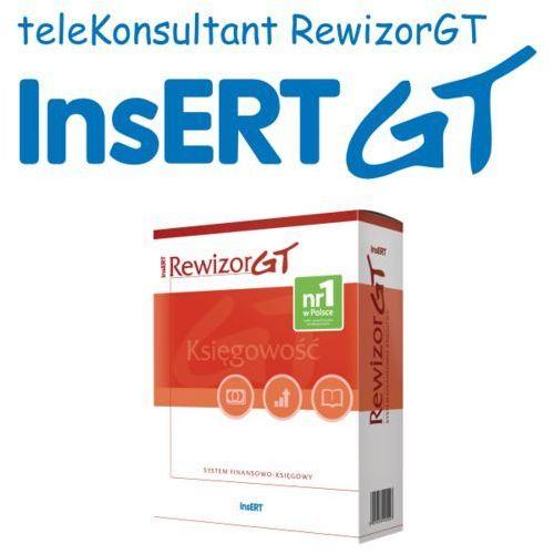Programy kadrowe i finansowe, Abonament na teleKonsultant Rewizor GT (bez abonamentu na ulepszenia)
