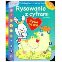 Książki dla dzieci, Rysowanie z cyframi. Życie na wsi (opr. miękka)