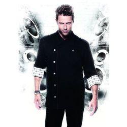 Bluza kucharska, rozmiar 46, czarna | KARLOWSKY, Rock Chef