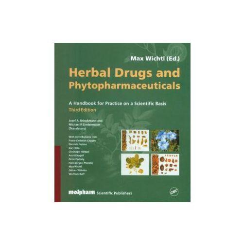 Książki o zdrowiu, medycynie i urodzie, Herbal Drugs and Phytopharmaceuticals. A Handbook for practice on a Scientific Basis