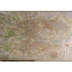 Kraków mapa ścienna 1:26 000