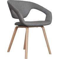 Fotele, Zuiver Fotel FLEXBACK naturalny/jasny szary 1200126