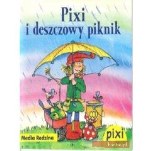 Książki dla dzieci, Pixi. Pixi i deszczowy piknik (opr. broszurowa)