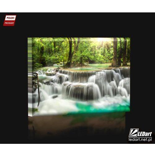 Obrazy, Wodospad Obraz podświetlany LED
