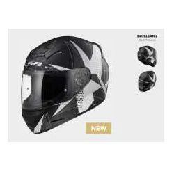 KASK LS2 FF352 ROOKIE BRILLIANT GLOSS BLACK TITANUM
