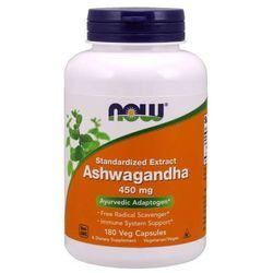 Now Foods Ashwagandha 450 mg 180 kapsułek - 180 kapsułek