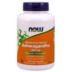 Now Foods Ashwagandha 450 mg 180 kapsułek