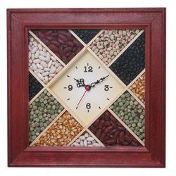 Zegar drewniany MIX #12