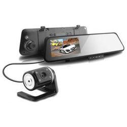 Kamera Samochodowa FULL HD w Lusterku + Kamera Zewnętrzna + LCD 4,3