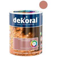 Farby, Farba Lateksowa Akrylit W Kolor Kawowa Pralinka 5l Dekoral