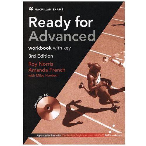 Książki medyczne, Ready for Advanced. Ćwiczenia z Kluczem + CD (opr. miękka)