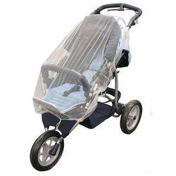 Moskitiera na wózek bliżniaczy spacerówkę jogger