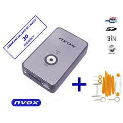 NVOX NV1080A FIAT 8PIN Zmieniarka cyfrowa emulator MP3 USB SD FIAT 8PIN