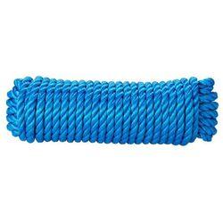 Lina skręcana polipropylenowa Diall 12 mm x 20 m niebieska
