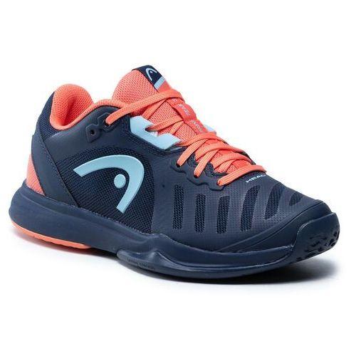Damskie obuwie sportowe, Buty HEAD - Sprint Team 3.0 2021 274301 Dressblue/Coral 035