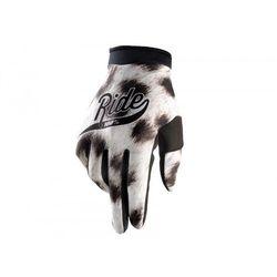 100 procent rękawiczki cross/enduro junior/dziecięce itrack ride kolor biały/czarny