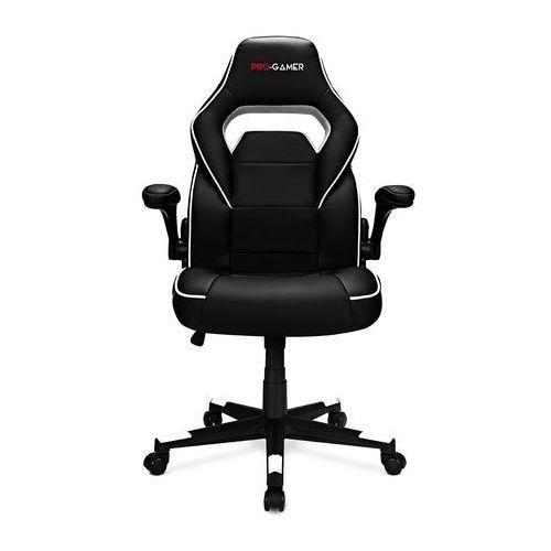 Fotele dla graczy, Fotel gamingowy STRIKE biały PRO-GAMER dla gracza