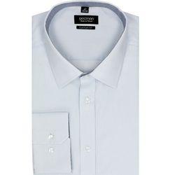 koszula bexley 2385 długi rękaw custom fit niebieski