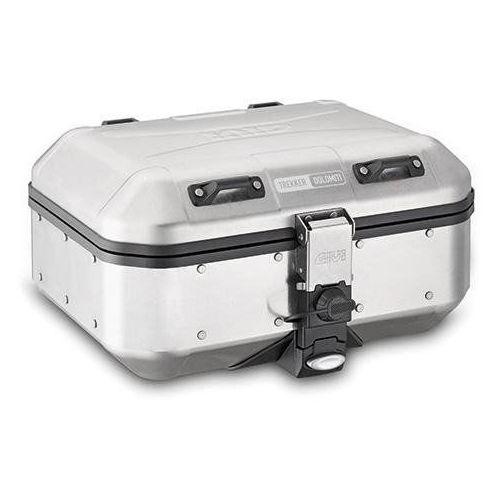 Kufry i bagażniki motocyklowe, GIVI DLM30A KUFER CENTRALNY LUB BOCZNY TREKKER DOLOMITI ALU (30LT)