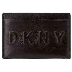 Etui na karty kredytowe DKNY - Slgs Debossed Logo R172440101 Black 001