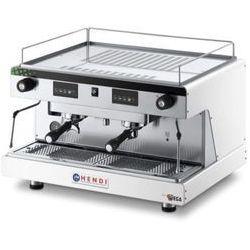 Ekspres do kawy kolbowy HENDI Top Line by Wega 2-grupowy biały HENDI 208939