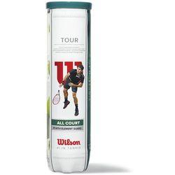 Wilson zestaw piłek tenisowych Tour All Court 4 Ball - BEZPŁATNY ODBIÓR: WROCŁAW!