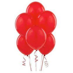 Balony lateksowe pastelowe czerwone - 11 cali - 100 szt.