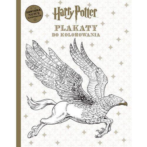 Kolorowanki, Harry Potter Plakaty do kolorowania - Opracowanie zbiorowe