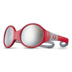 Julbo Loop L Spectron 4 Okulary przeciwsłoneczne Dzieci, red/grey/grey flash silver 2020 Okulary