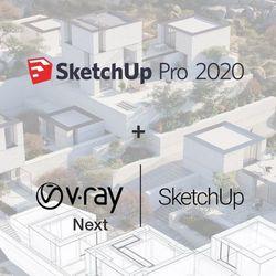 Sketchup Pro 2020 ENG + V-Ray NEXT