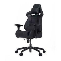 Vertagear S-Line SL4000 Racing Series Krzesło gamingowe - Czarno-węglowy - Skóra PU - 150 kg