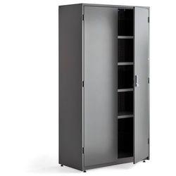 Szafa narzędziowa, elektroniczny zamek szyfrowy, 1900x1020x500 mm, ciemnoszary