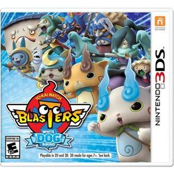 Yo-Kai Watch Blasters White Dog Nintendo 3DS